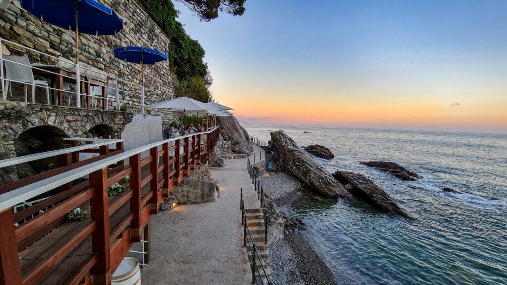 Ristorante sul mare - Zoagli Liguria